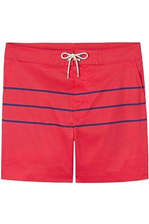 Swimshorts Men's Striped Long Length Swim Shorts