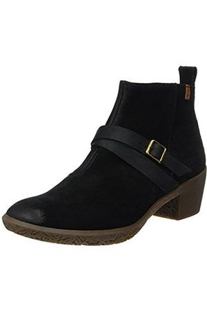 El Naturalista Women's Ng16 Lux Suede-Pleasant Alhambra Ankle Boots