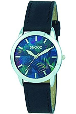 Snooz Women's Analogue Quartz Watch with Leather Strap Saa1040-73