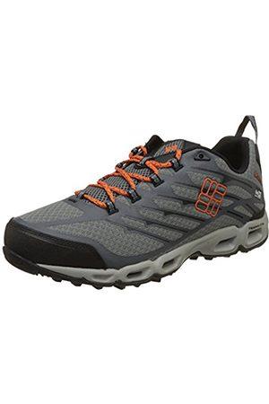 Columbia Men's Ventrailia II Outdry Multisport Outdoor Shoes, (ti Steel/Heatwave)