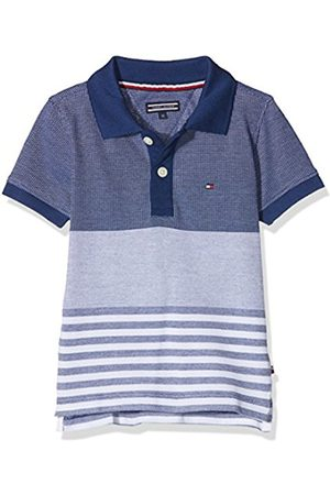 Tommy Hilfiger Boy's Structured Pique Polo S/s Shirt, ( Depths 406)