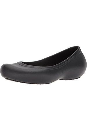 Crocs Women's Kadee II Work Flat Closed-Toe Sandals