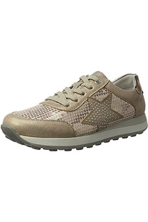 Rieker Kinder K2802, Girls' Low-Top Sneakers, (Rose/nude/kupfer/31)