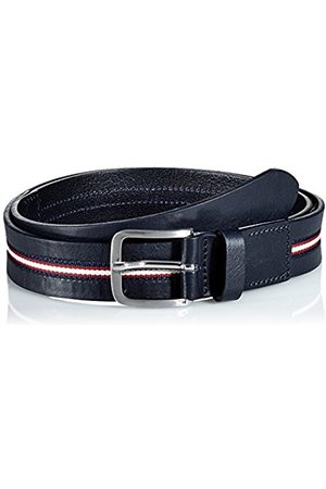 Tommy Hilfiger Men's Corporate Center Stripe 3.5cm Belt