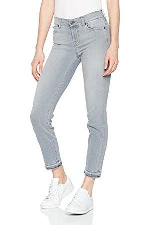 Seven for all Mankind International SAGL Women's Mid Rise Roxanne Crop Unrolled Slim Jeans
