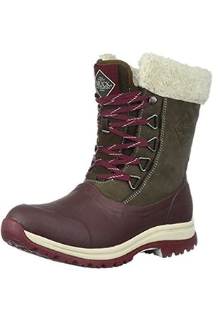 Muck Women's Arctic Lace Mid Wellington Boots, (Bitter Chocolate/French Roast/Cordovan)