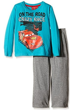 Disney Boy's Crazy Race Cars Long Sleeve Pyjama Set