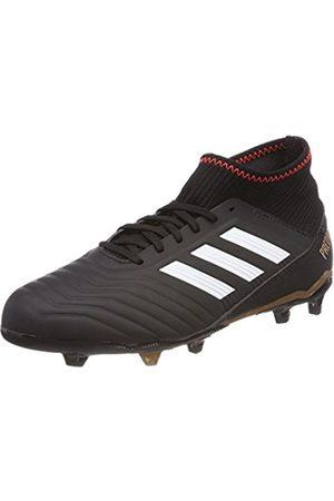 adidas Unisex Kids' Predator 18.3 Fg Footbal Shoes, Cblack/Ftwwht/Solred
