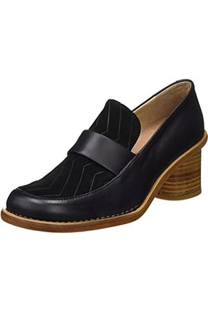 Neosens Women's S567 Restored Vesubio Ebony/Debina Closed Toe Heels
