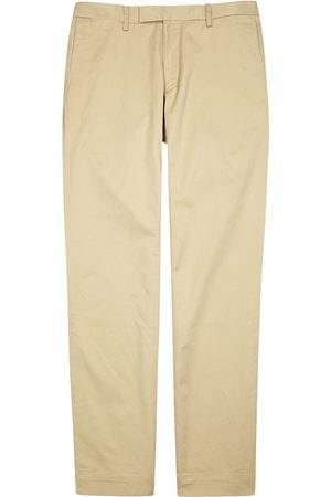 Polo Ralph Lauren Taupe Slim-leg Stretch Cotton Chinos