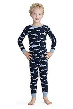 Hatley Boy's Organic Cotton Long Sleeve Printed Pyjama Sets