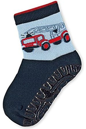 Sterntaler Baby Boys' Fli Sun Feuerwehrauto Socks