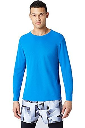 FIND Men's Long Sleeve Lightweight Mesh Sport Shirt