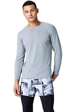 FIND Men's Long Sleeve Lightweight Mesh Sport Shirt