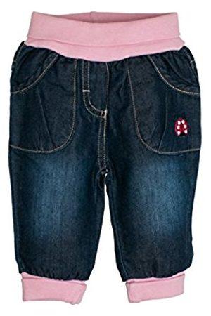 Salt & Pepper Baby Girls' NB Glück MIT Bund Jeans