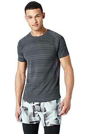 FIND Men's Short Sleeve Sport Shirt, (Black)
