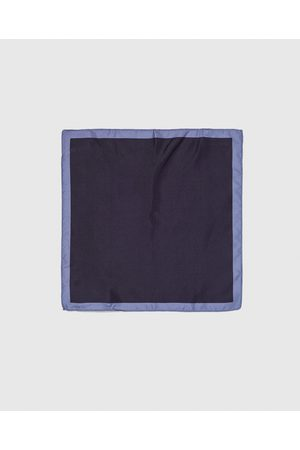 Zara PLAIN POCKET SQUARE WITH TRIM - Available in more colours