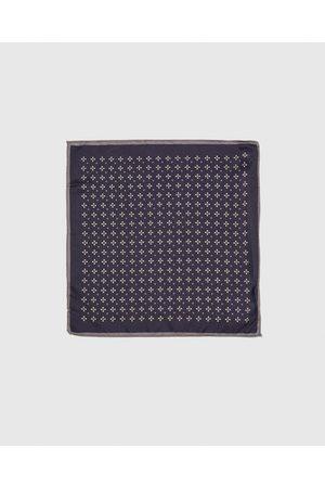 Zara PRINTED POCKET SQUARE WITH TRIM