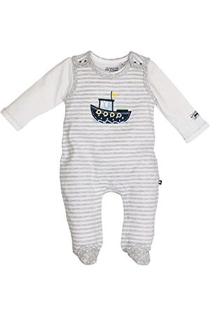 Salt & Pepper Salt and Pepper Baby Boys' NB Playsuit Ready Stripe Footies