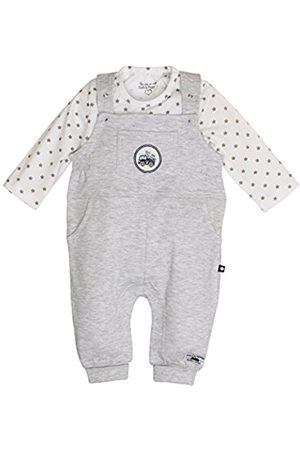Salt & Pepper Salt and Pepper Baby Boys' NB Dungarees Ready UNI Footies