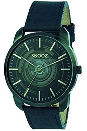 Snooz Men's Analogue Quartz Watch with Leather Strap Saa1044-62