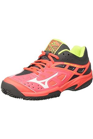 Mizuno Women's Break Shot Ex CC (W) Tennis Shoes multicolour Size: 5.5