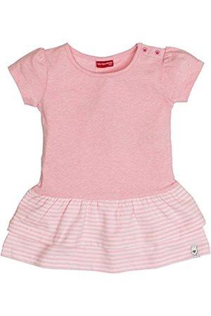 Salt & Pepper Salt and Pepper Baby Girls' B Dress Summer uni Stufen (Rose Melange 810)