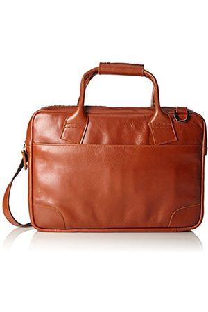 Royal RepubliQ Nano Big Zip Leather, Unisex Adults' Laptop Bag, Braun (Cognac)