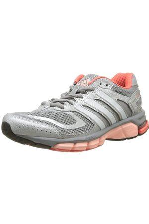 adidas Performance Womens Response Cushion 22-5 Running Shoes D67065 Mid /Pearl Metal/Glow 3.5 UK