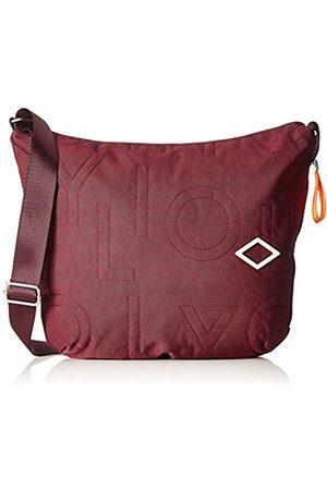 Oilily Spell Shoulderbag Lhz, Women's Cross-Body Bag, Rot (Burgundy)