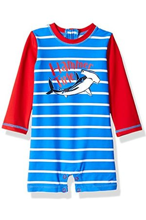 Hatley Baby Boys' Mini Rashguard One-Piece Swimsuit