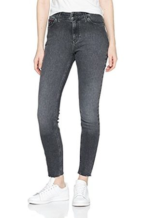 Tommy_Jeans Women's High Rise Skin. Santana 7/8 Drblst Skinny Jeans