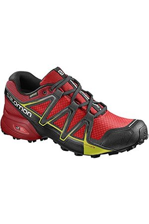 Salomon Men's Speedcross Vario 2 GTX Trail Running Shoes, Synthetic/Textile, (Fiery /Barbados Cherry/Magnet)