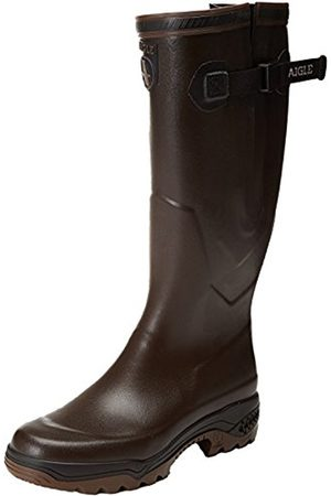 Aigle Unisex-Adults PARCOURS 2 VARIO Wellington Boots Hunting Shoes (Brun 5)
