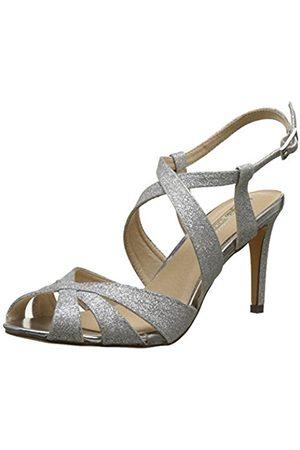 London Womens 12608-348 Kid Glitter Heels Sandals Buffalo 28roEuz