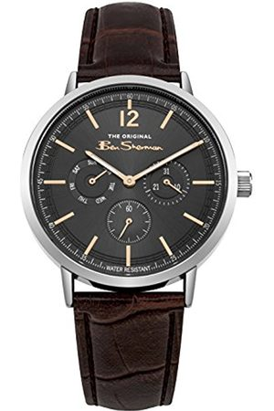 Ben Sherman Mens Analogue Classic Quartz Watch with PU Strap BS011EBR