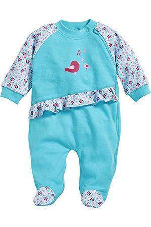 Playshoes Baby Girls' Schlafoverall Vögelchen Sleepsuit