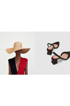 4e4eab24b30 Zara slingback women s heels