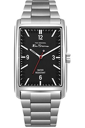 Ben Sherman Mens Analogue Classic Quartz Watch with Stainless Steel Strap BS013BSM