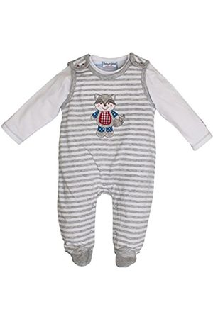 Salt & Pepper Salt and Pepper Baby Boys' BG Playsuit Stripe Footies