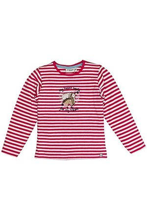 Salt & Pepper Salt and Pepper Girl's Horses Stripes Longsleeve T-Shirt