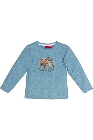 Salt & Pepper Salt and Pepper Girl's Horses UNI Stick Longsleeve T-Shirt