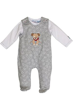 Salt & Pepper Salt and Pepper Baby Boys' BG Playsuit allover Footies
