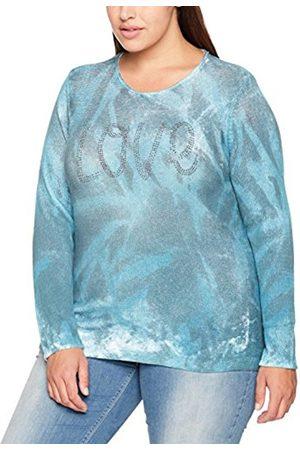 GINA LAURA Women's Pullover, Aquarelldruck, Hot Fix Jumper