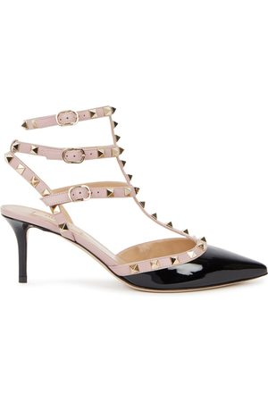 VALENTINO GARAVANI Rockstud 65 Patent Leather Pumps