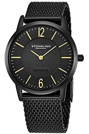 Stuhrling Original Classic Somerset Elite Men's Quartz Watch with Dial Analogue Display and Stainless Steel Bracelet 122.33551