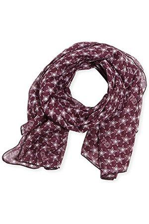 Tommy Hilfiger Women's Ecya scarf Scarf, Multicoloured (italian Plum/Egret-pt 581)