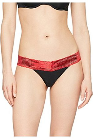 IRIS & LILLY Women's Glamour Thong, Pack Of 2
