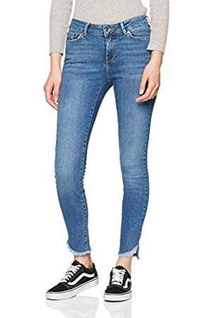 Vero Moda Women's Vmseven NW S Uneven Ank Ba389 Slim Jeans