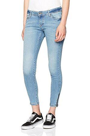 Vero Moda Women's Vmfive LW S Ankle Am004 Lt BL Slim Jeans
